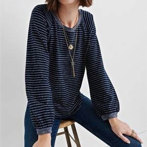 Lucky Brand Striped Long Sleeve Pullover Size XL